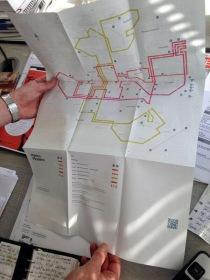 Manchester Modernist Society Metro Modern Map - photo Evolutionprint