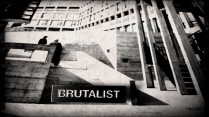 modernist magazine brutalist badge 1